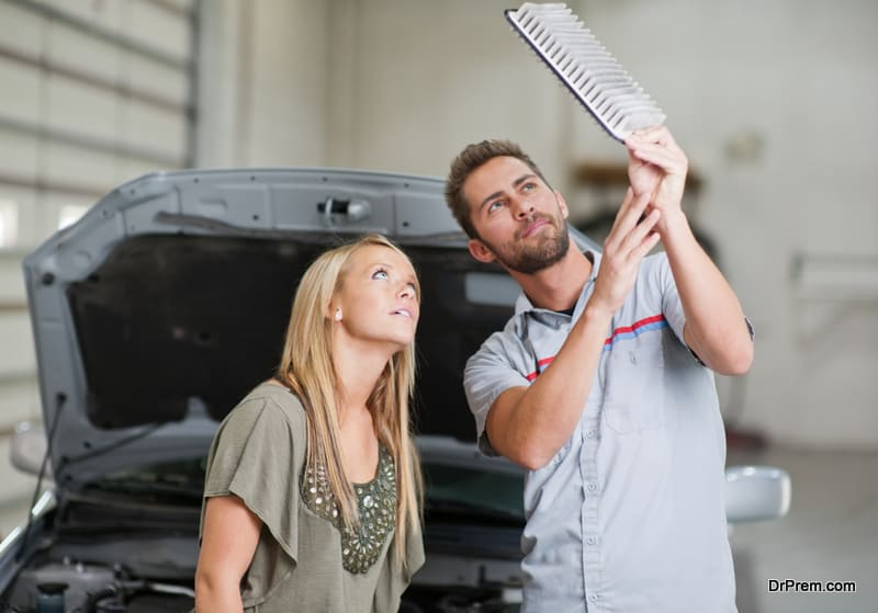 Making Sure The Car Is Maintained