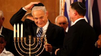 Photo of Hanukkah festival of lights, Israel