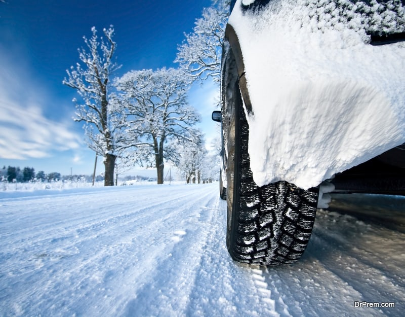 roads become treacherous during winters