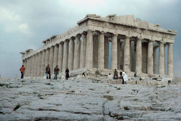 greek temples The complete guide to greek doric temples includes a statistical evaluation confirming that temple design was based on a pythagorean method of square numbers.