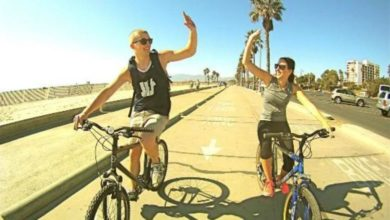 Photo of Hollywood bike tour, Los Angles, California