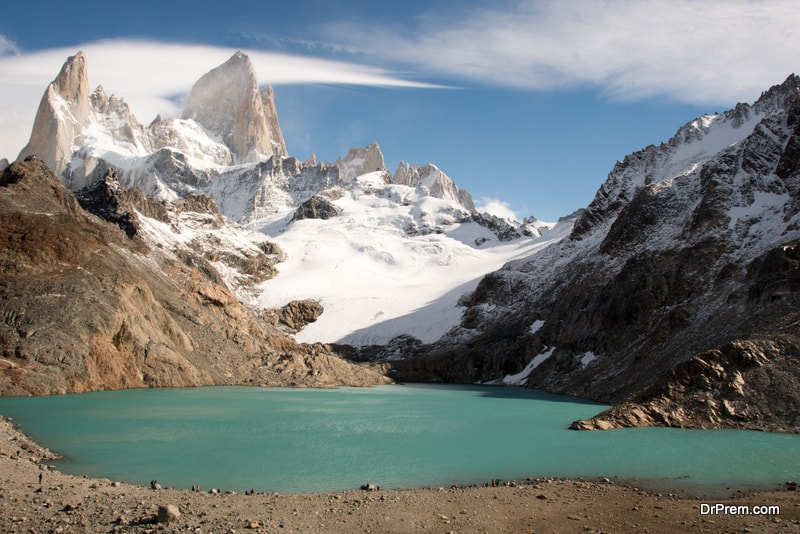 Exploring the Andes in South America
