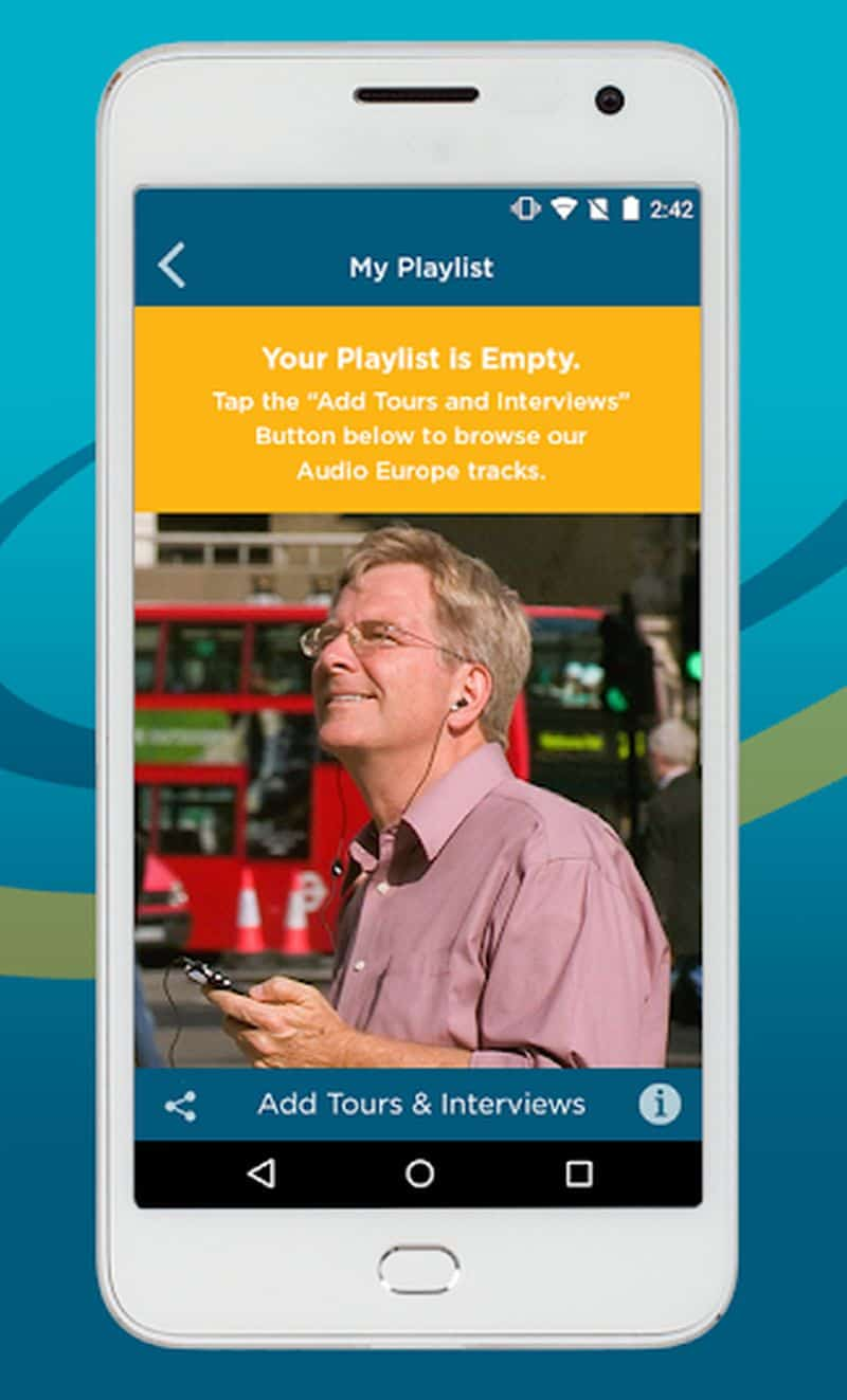 Rick Steves Audio Europe App