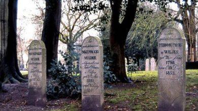 Historical graveyards