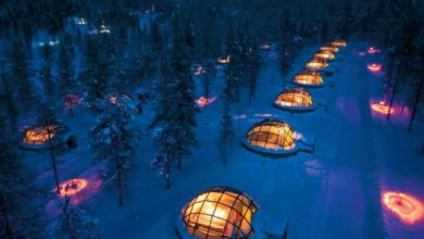 Photo of Visit the Igloo village for the fun and novelty that it offers