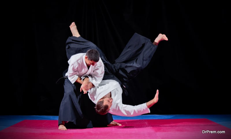 Aikido japanese traditional sports