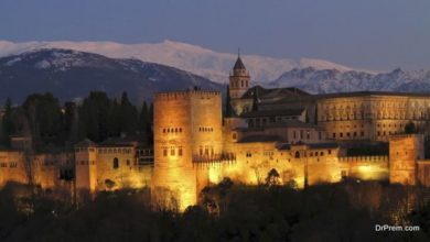 Spanish Alhambra Palace