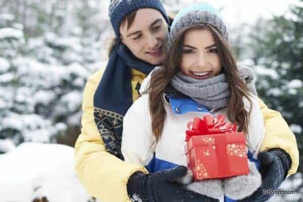 romantic Christmas holidays