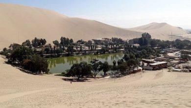 Huacachina The desert oasis