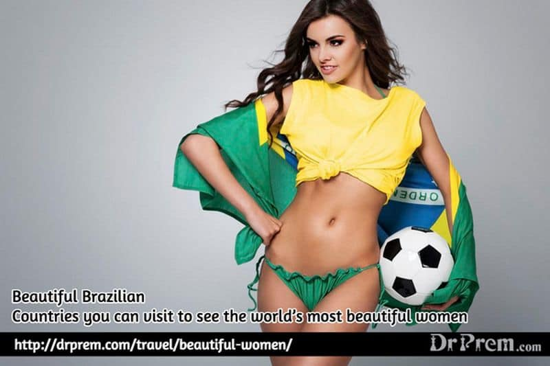 Beautiful Brazilian Woman - Dr Prem