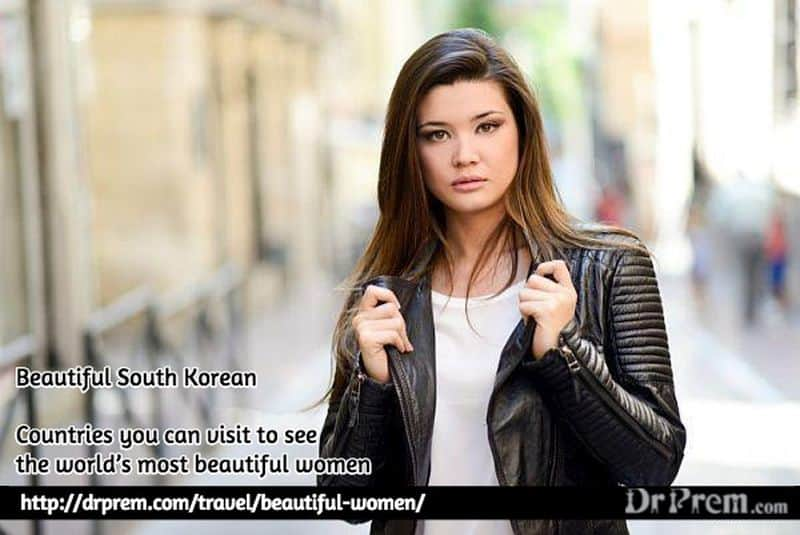 Beautiful South Korean Woman - Dr Prem