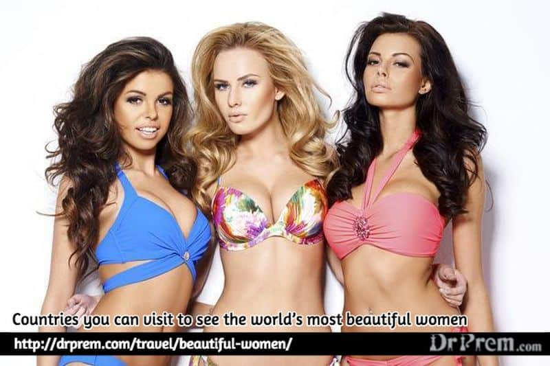 Photo of Countries you can visit to see the world's most beautiful women