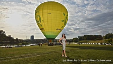Photo of Vilnius Hot Air Balloon ride – Review by Dr Prem
