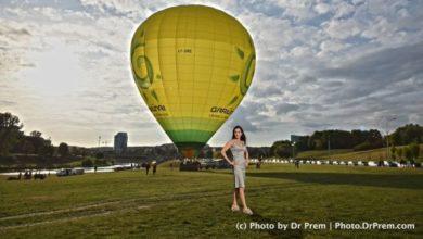Vilnius Hot Air Balloon ride