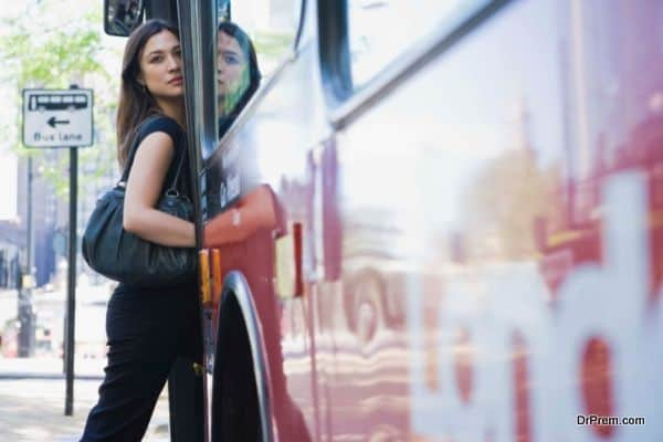 travelers prefer the affordable bus ride