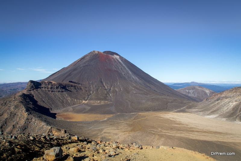 tongariro Northern Circuit in New Zealand