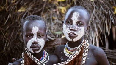 Photo of Ethiopia's Karo tribe is a decent mix of amity, color and vigor