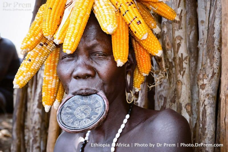 Mursis are probably the last ethnic tribes in Africa