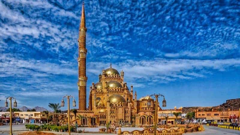 Al-Mustafa Mosque by Dr Prem sharm El Sheikh Egypt