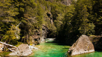 natural formations of Patagonia