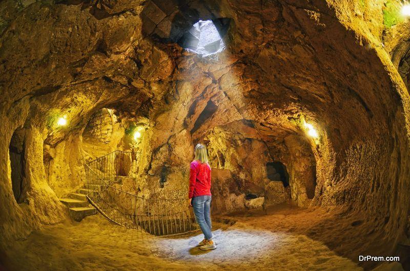 Derinkuyu cave underground city, Cappadocia