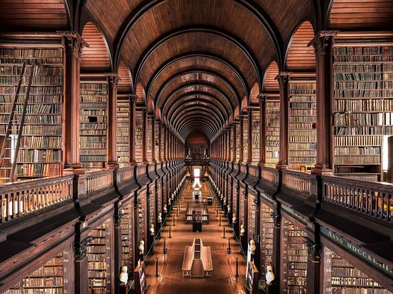 Old Library, Trinity College Library, Dublin