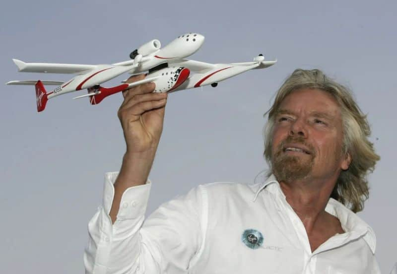 Sir Richard Branson's Virgin Galactic