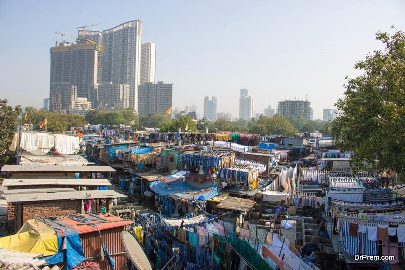 Dharavi slums, Mumbai