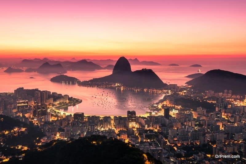 Rio de Janeiro by Sunrise