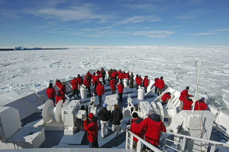 Harmful impacts of tourism on Antarctica