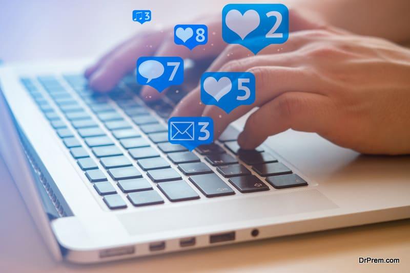 keep away social media
