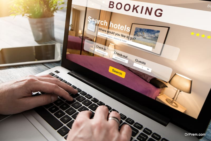 online hotel booking trend