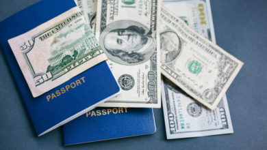 US government drop in travel expenditure affects airlines