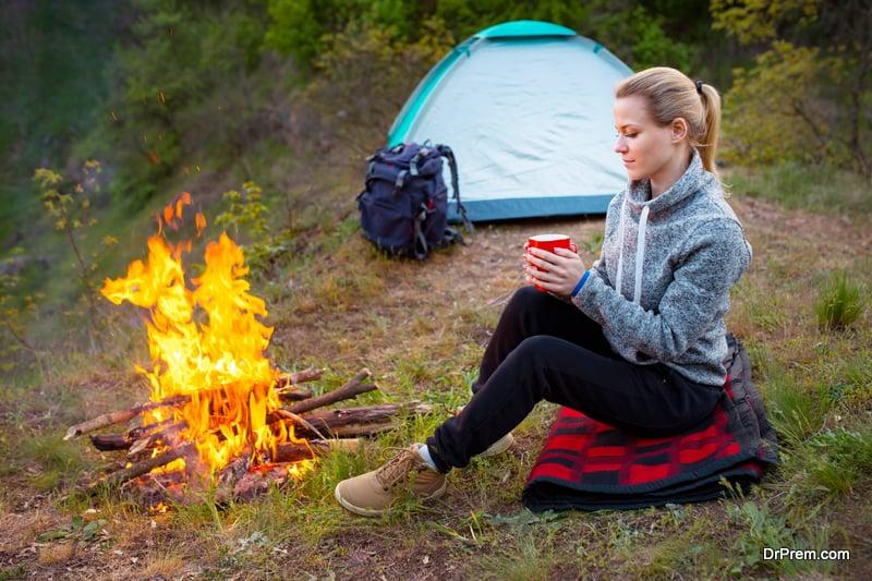 Avoid camp fires