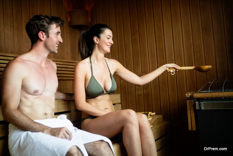 Experience the authentic sauna