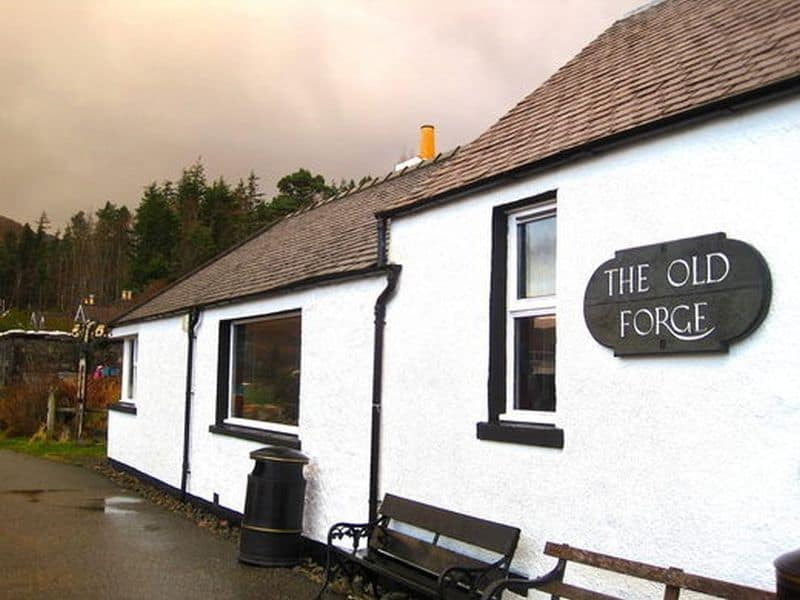 Old Forge Pub in Knoydart