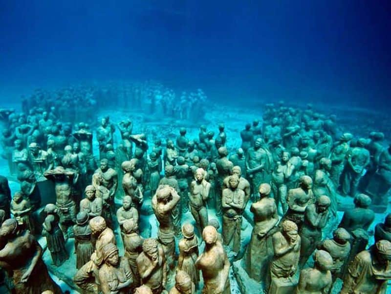 The Cancun Underwater Museum – MUSA