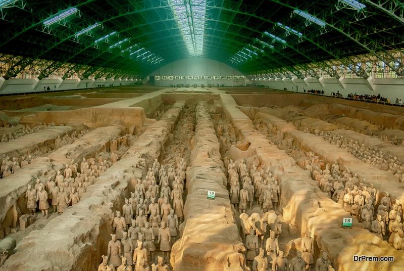 Tombs of Qin Shi Huangdi, China