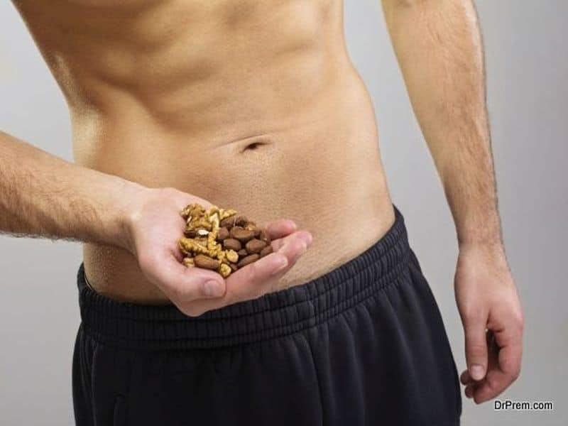 handful of nuts