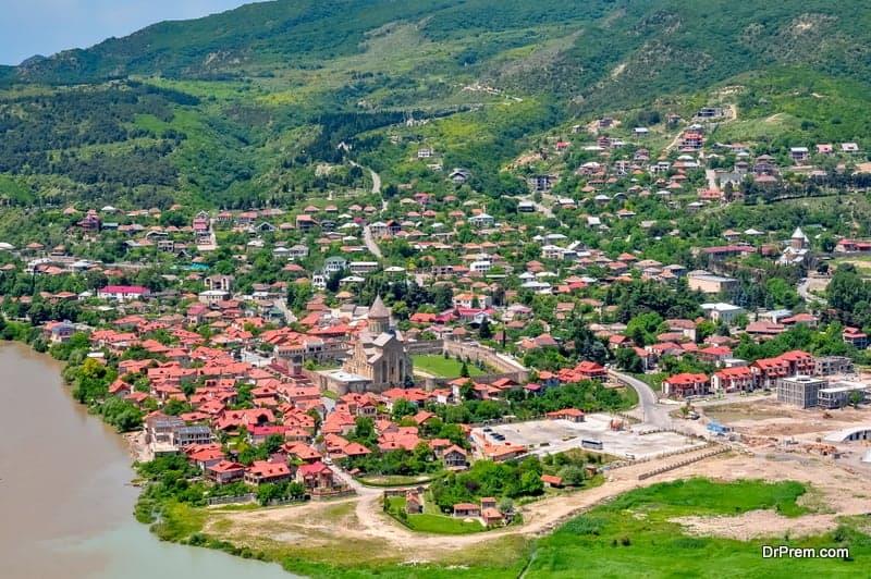 Old town of Mtskheta