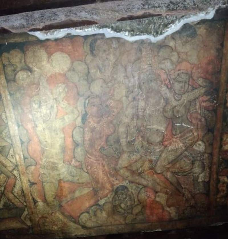 Paintings in Ajanta Caves