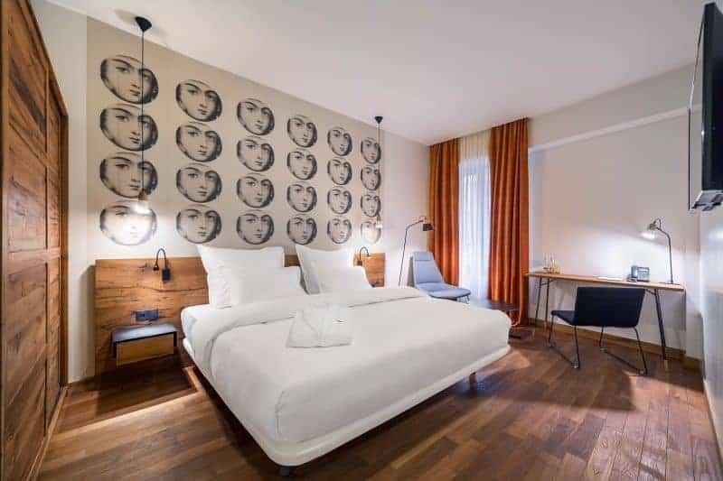 Shota Rustaveli boutique hotel room