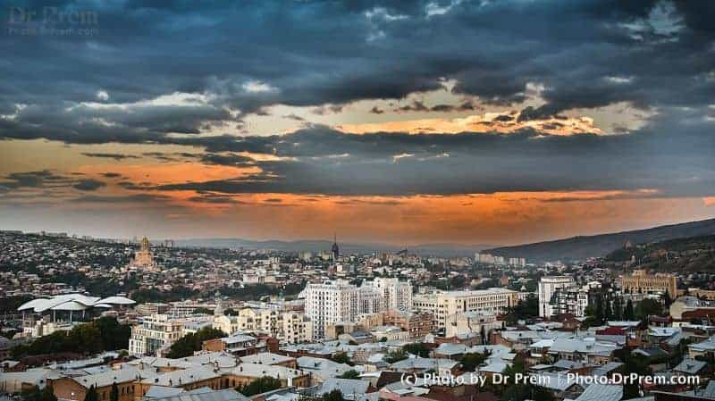 Tiblisi City View Georgia by Dr Prem