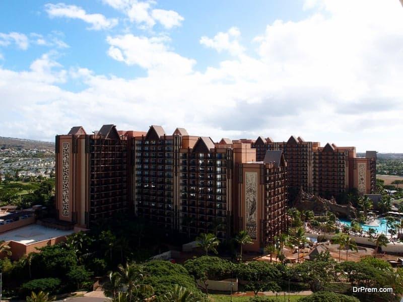 Disney Aulani Hotel on Oahu