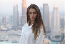 Katerina Leroy visits the new opened Luxury Dubai Hotel Address Sky View