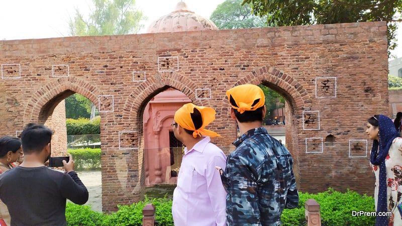 the bloodiest actions of British rule at the Jallianwala Bagh in Amritsar costs 2,000 innocent Indians