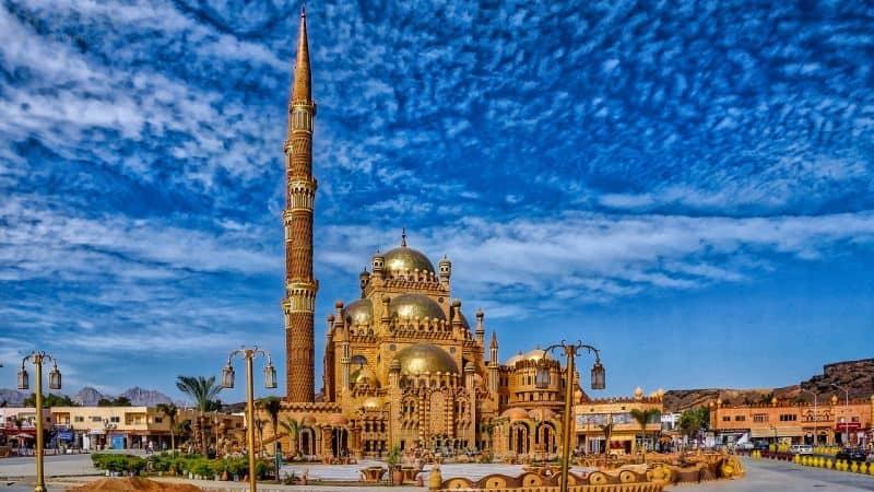 Al-Mustafa Mosque by Dr Prem sharm El Sheikh Egypt