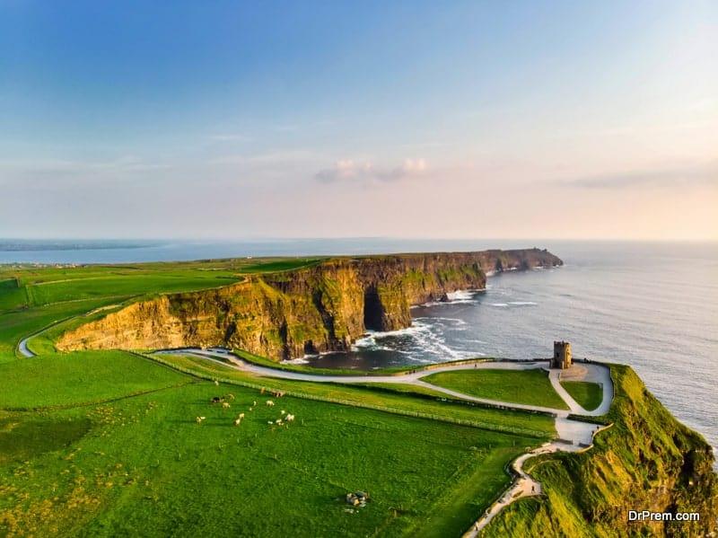 Burren and Cliffs Moher, Ireland
