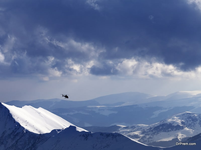 Georgia a loved destination for heliskiing