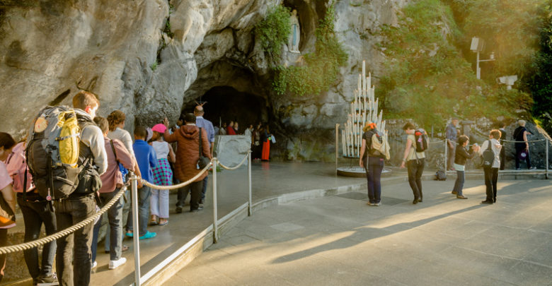Grotto-of-Lourdes-France